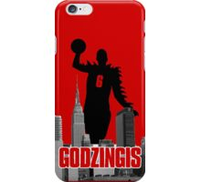 Godzingis - Red iPhone Case/Skin