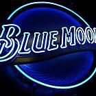 Blue Moon (2) by Nicole  Markmann Nelson
