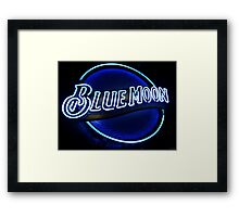 Blue Moon (2) Framed Print