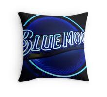 Blue Moon (2) Throw Pillow