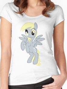 Derpy Hooves Women's Fitted Scoop T-Shirt