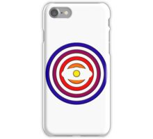 coloured circles iPhone Case/Skin