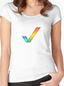 Amiga Women's Fitted Scoop T-Shirt