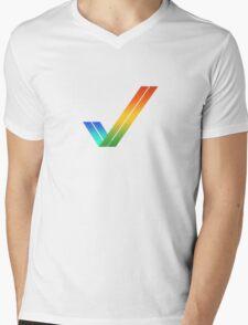 Amiga Mens V-Neck T-Shirt