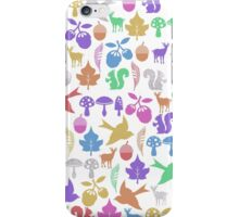 Woodlands friends iPhone Case/Skin