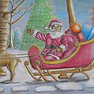 Santa Claus by thuraya o