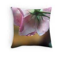 Lonely Rose Throw Pillow