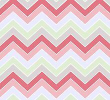 Cotton Candy {chevron pattern} by sweettoothliz
