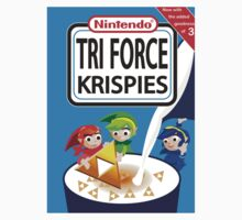 Tri Force Krispies Baby Tee