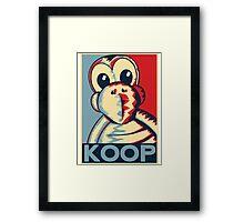 Vote Koopa (Poster / Print) Framed Print