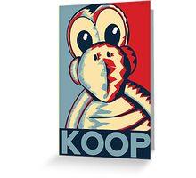 Vote Koopa (Poster / Print) Greeting Card