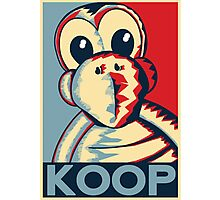Vote Koopa (Poster / Print) Photographic Print