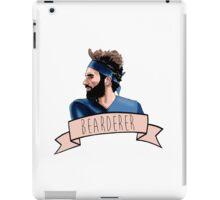 BEARDERER iPad Case/Skin