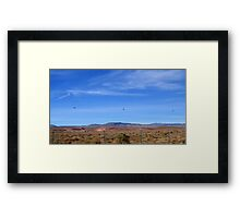 Three Helicopters in A Row Framed Print