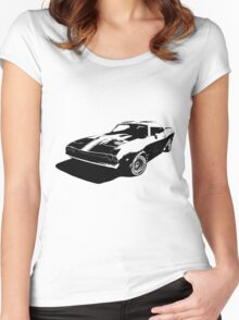 classic racer Women's Fitted Scoop T-Shirt