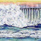 Pfieffer Beach Wave by Diana Cardosi-Bussone