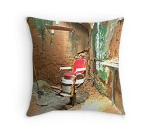 The Mad Chair Throw Pillow
