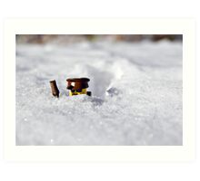 Deep Snow Art Print