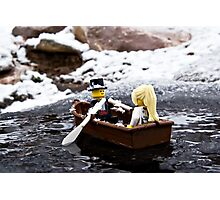 Winter Wedding Photographic Print