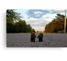 Hiker & Hitchhiker Canvas Print