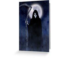 Death Arrives Greeting Card