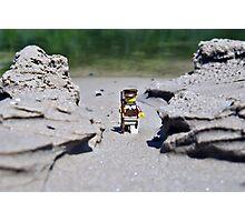 Hike the beach Photographic Print