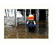 Ice World Art Print