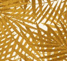 Gold Foil Palm Leaves Sticker