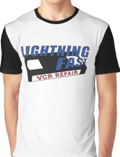 Lightning Fast VCR Repair (Half in the Bag) Graphic T-Shirt