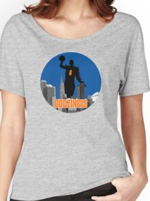 Godzingis- Blue Women's Relaxed Fit T-Shirt