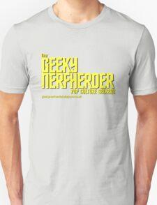 The Geeky Nerfherder - Trek T-Shirt