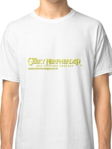 The Geeky Nerfherder - Rings 1 Classic T-Shirt