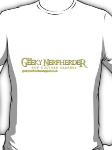 The Geeky Nerfherder - Rings 2 T-Shirt