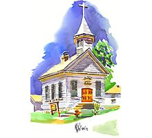 Immanuel Lutheran Church Photographic Print