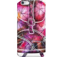 Watercolor Colorful Backpack iPhone Case/Skin
