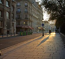 Early Morning in Paris by Robyn Carter