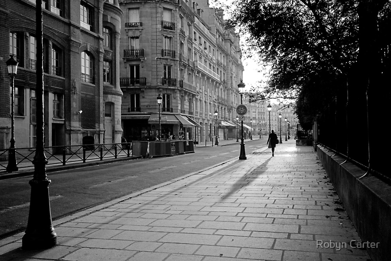 Early Morning in Paris II by Robyn Carter