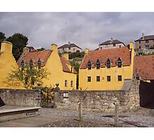 Culross Palace  and the Houses of Culross Photographic Print