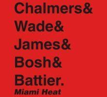 2010-2011 Miami Heat Jetset T-Shirt