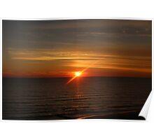 Madeira Beach Sunset Poster