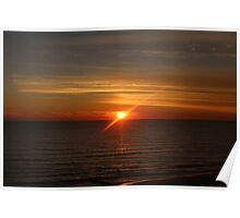 Madeira Beach Sunset Poster