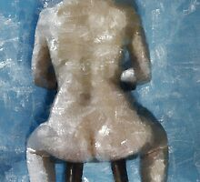 Nude In Chair by leapdaybride