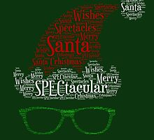 Santa Loves His Spectactular Christmas Specs by patjila