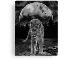 Midnight Patrol Canvas Print