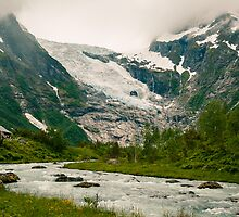 Bøyabreen Glacier, Norway 2012 by YorkStCreative