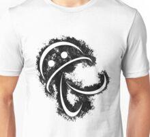 Antonio (white body on black) Unisex T-Shirt