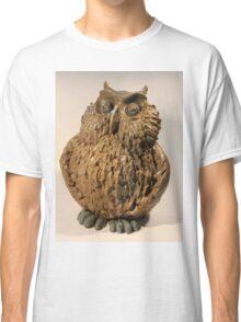 Stoneware Owl Classic T-Shirt