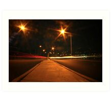 Middle of the Street Art Print