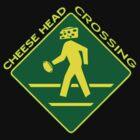 Cheese Head Crossing by KidMonkey