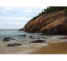 Rocks on the Shore Photographic Print